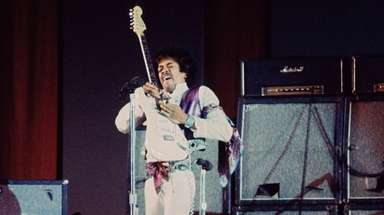 """""""Experience Hendrix"""" will celebrate the music of guitarist"""