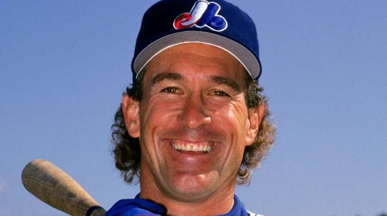 The Expos' Gary Carter during spring training.