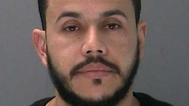 Juan A. Espinal, of Lindenhurst, was charged with