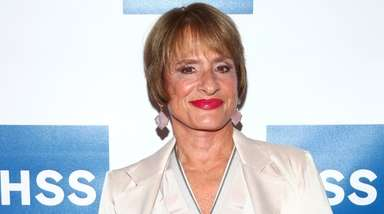 Patti LuPone attends a tribute dinner at the