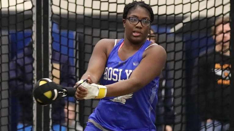 Natya Glasco of Rosyln competed in the Nassau