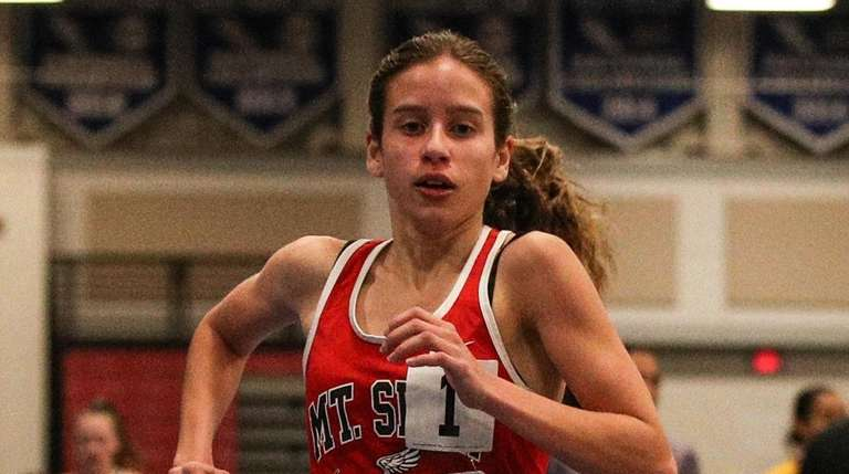 Sarah Connelly of Mt. Sinai wins the 3000