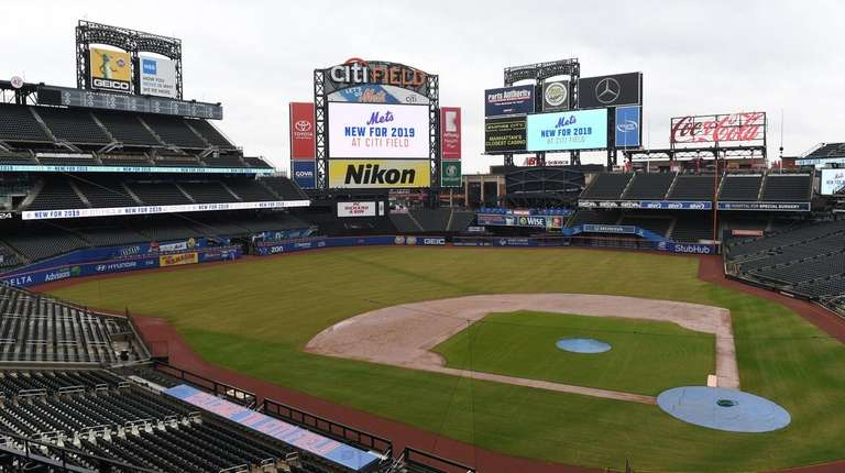 A view of Citi Field during the Mets