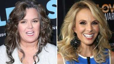 Rosie O'Donnell, left, and Elisabeth Hasselbeck are among