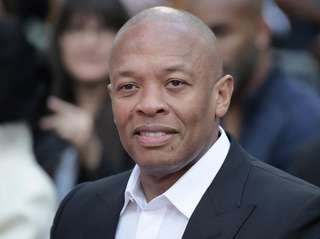 Dr. Dre was criiticized on social media for