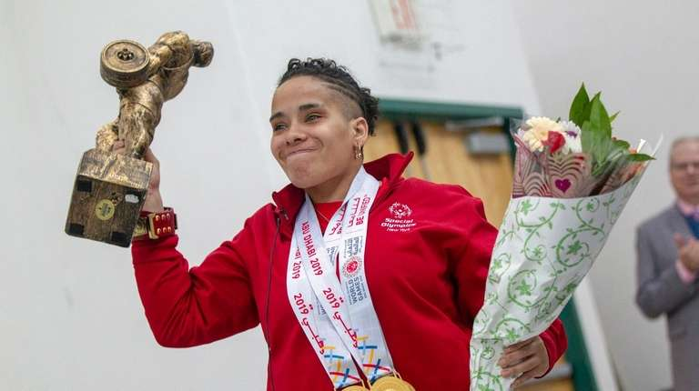 Four-time gold medalist at the 2019 Special Olympics