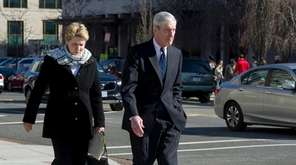 Special Counsel Robert Mueller, and his wife Ann,