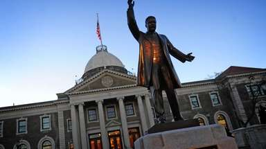 The Theodore Roosevelt Executive & Legislative Building in