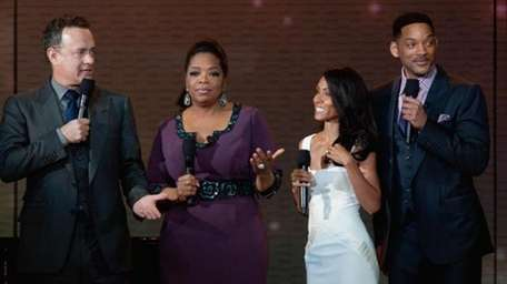 Oprah and a few of her friends
