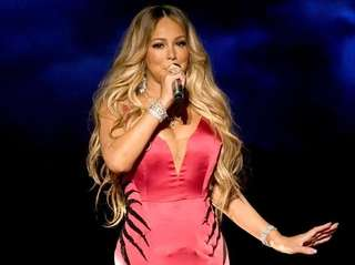Mariah Carey performs onstage during the 2018 American