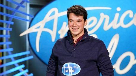 "Christiaan Padavan at his ""American Idol"" audition."