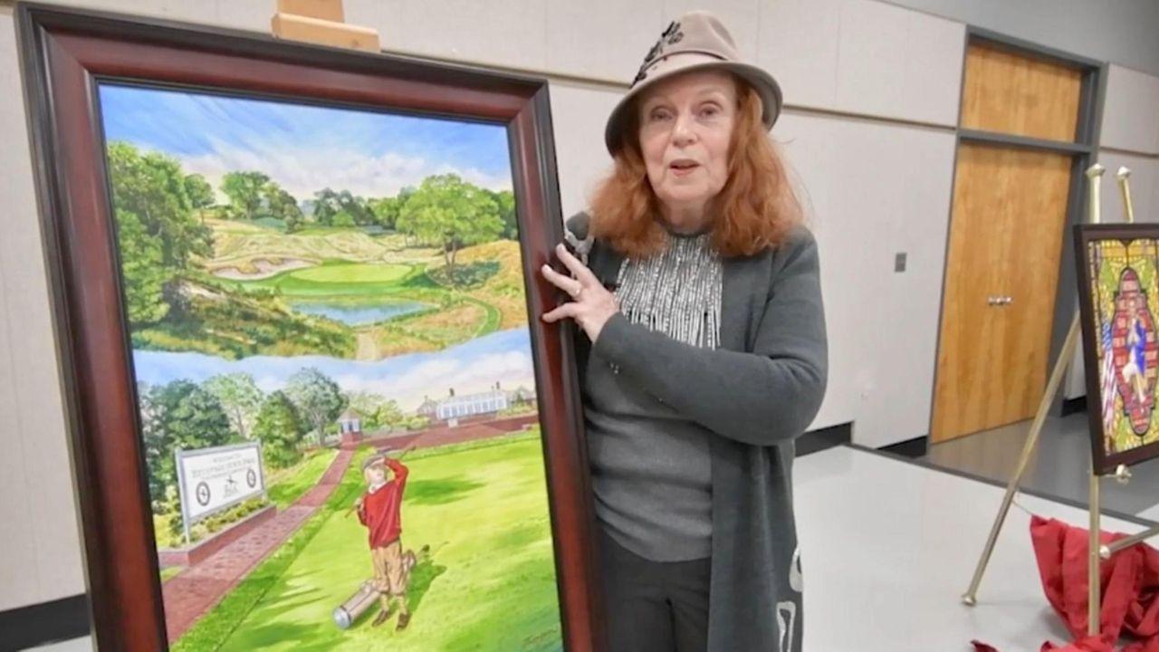 On Friday, Elaine Faith Thompson, arenownedBohemia-based artist who