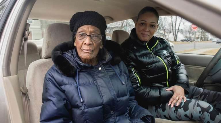 Della Barrett, left, has had to stop driving.