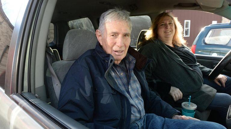 Arnold Herman, 88, of Huntington, gave up driving