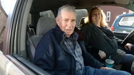 Arnold Herman, 88, of Huntington, gave up driving
