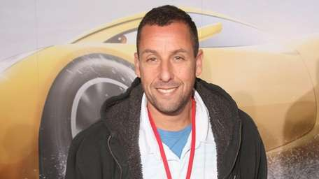 "Adam Sandler at the world premiere of ""Cars"