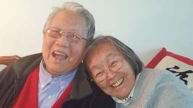 Alice Szema with her late husband, Li-Chieh, in