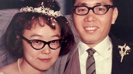 Alice Szema with her late husband, Li-Chieh, on