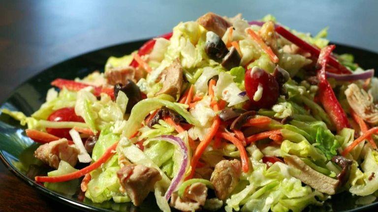 Enlightened cobb salad