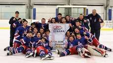 The Smithtown-Hauppauge Ice Hockey Club won the New