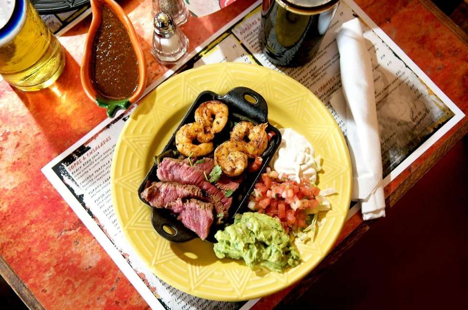Del Fuego serves a platter of surf and