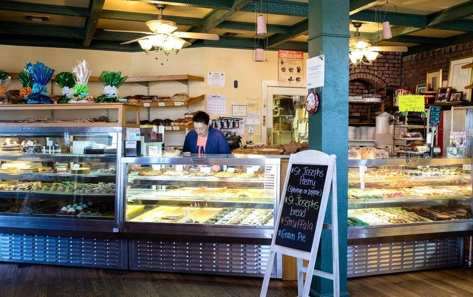 A regular fixture at the counter Kathy Garguilo,