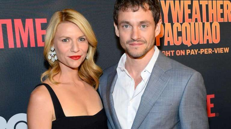 Claire Danes and Hugh Dancy attend the Showtime