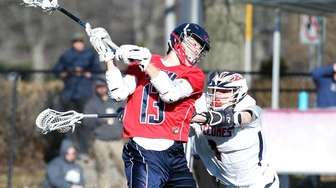 Cold Spring Harbor's Skylar Wenger who had a