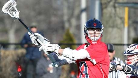 Cold Spring Harbor's Skylar Wenger scores against South