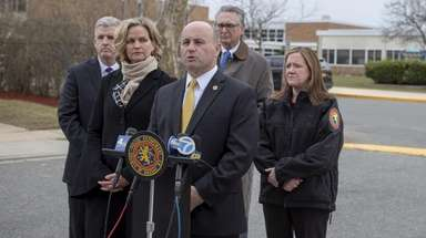 Nassau Police Commissioner Patrick Ryder and Nassau County