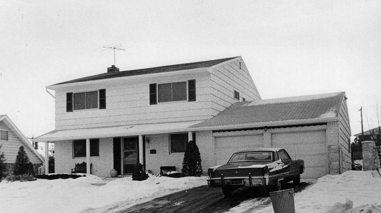 The home of John (Sonny) Franzese on Shrub