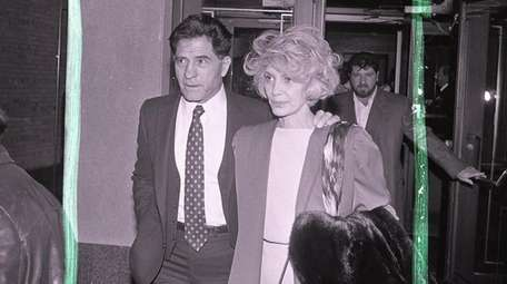 John (Sonny) Franzese and wife, Tina, leave federal