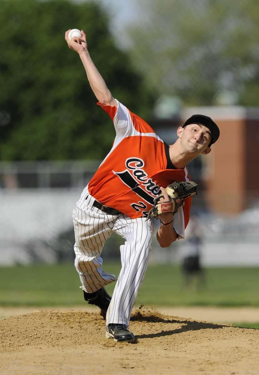 Carey pitcher Jesse Montalto delivers to the plate