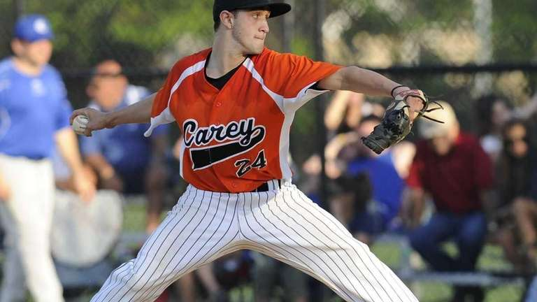 Carey's Jesse Montalto pitched a complete game in