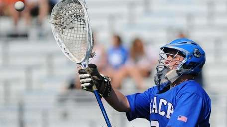 Long Beach High School goalkeeper #6 Mike Rourke