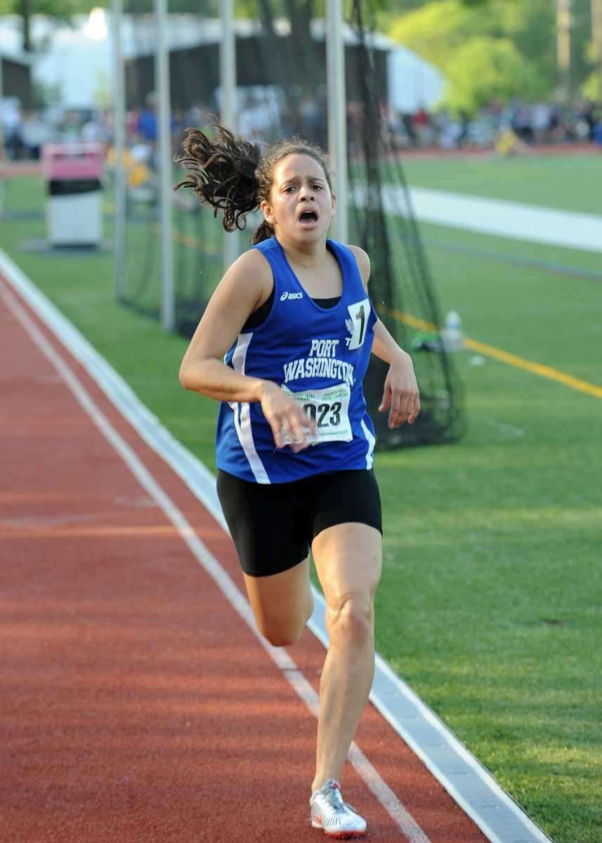 Port Washington's Sara Giraldo wins the Class AAA