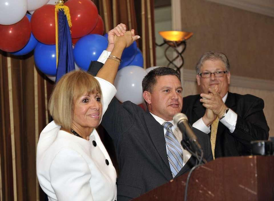 Angie Carpenter is nominated for Suffolk county executive