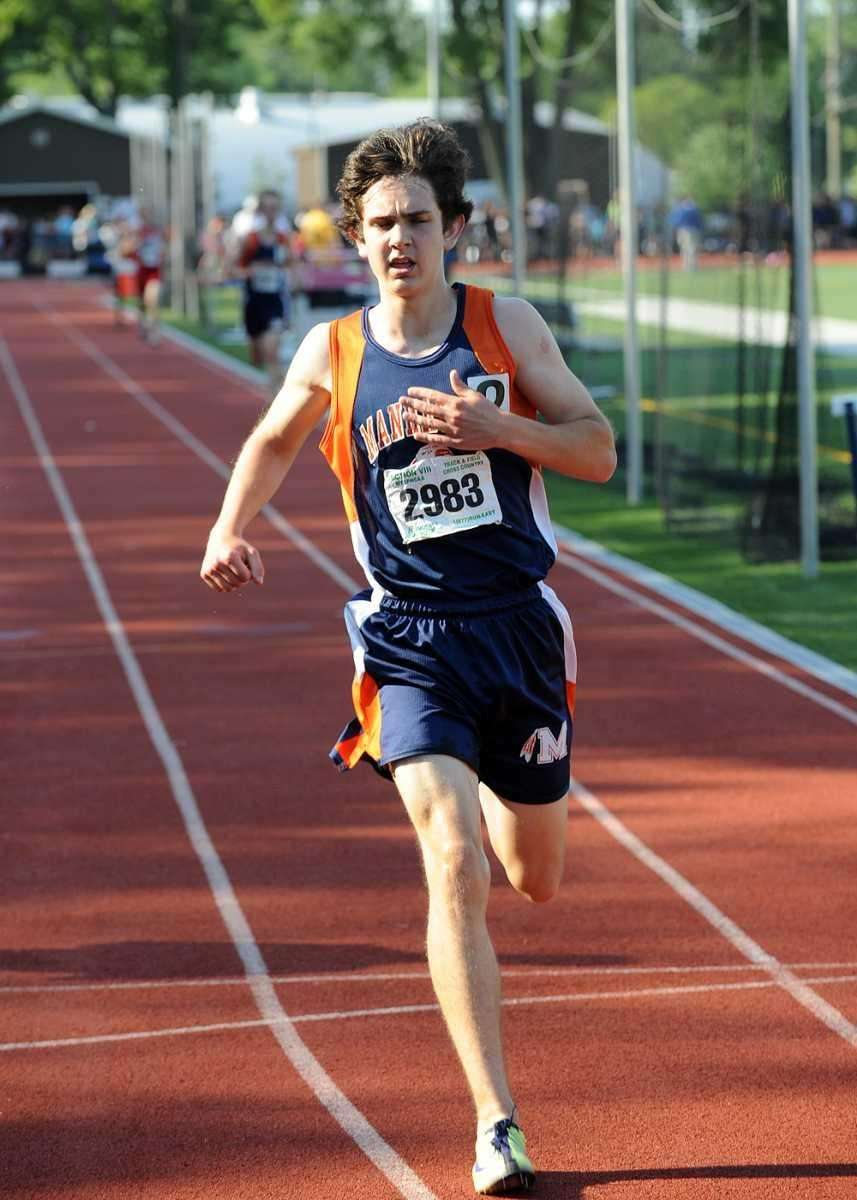 Manhasset's Steven Bourguet wins the Class A 3000