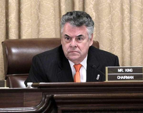 House Homeland Security Committee Chairman Rep. Peter King,