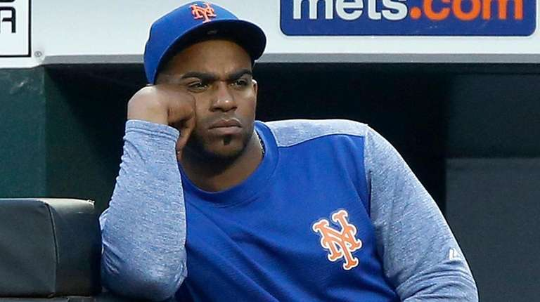 Yoenis Cespedes at Citi Field on July 24,
