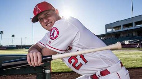 Mike Trout of the Los Angeles Angels.