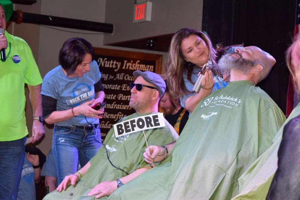 The St. Baldrick's Foundation event in Farmingdale gets