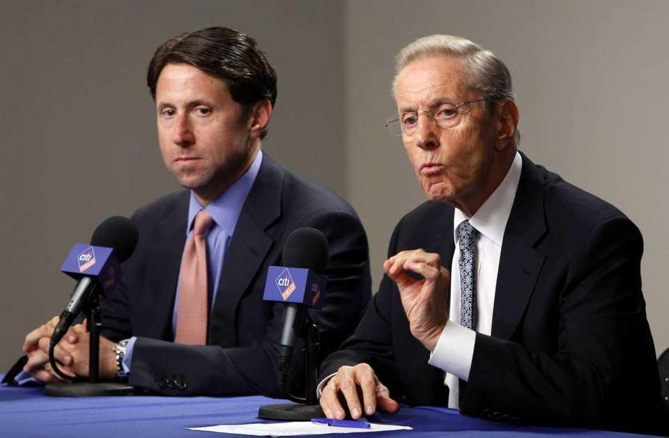 Jan. 28, 2011: Fred and Jeff Wilpon announce