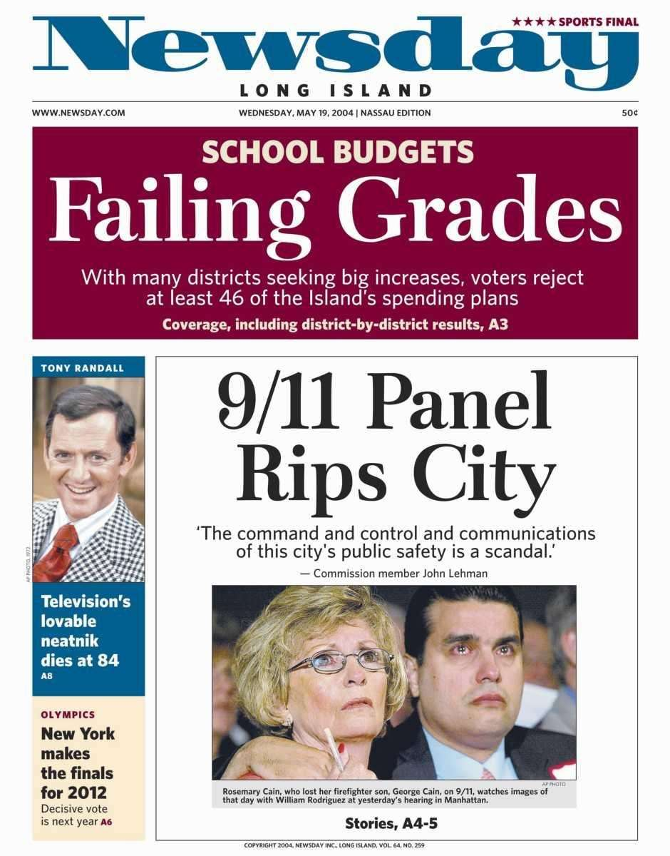 Wednesday, May 19, 2004. Read the story
