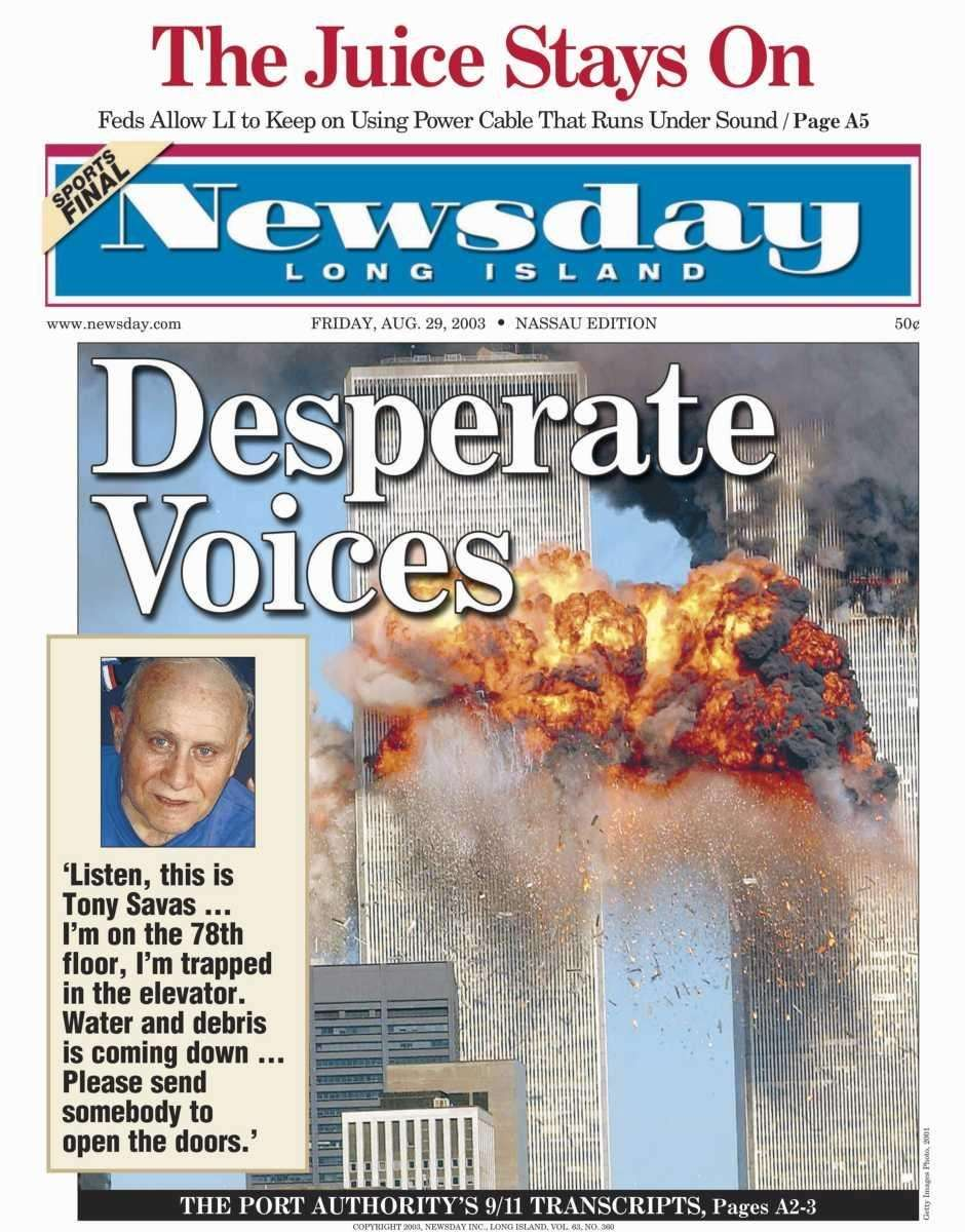 Friday, August 29, 2003. Read the story