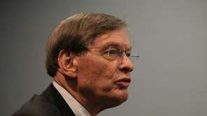 File photo of MLB commisioner Bud Selig. David