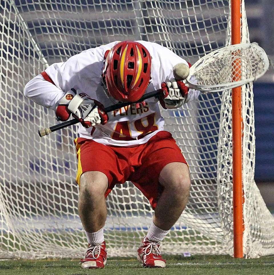 Chaminade goalie John Connors slams self in the