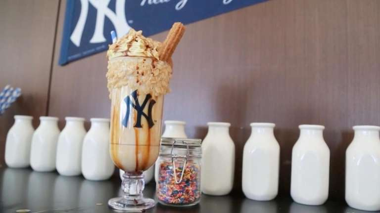 Yankee Stadium is offering a variety of food