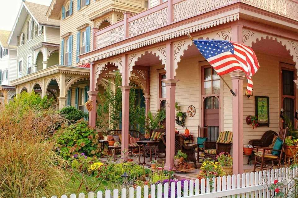 Cape May, on the New Jersey shore, is