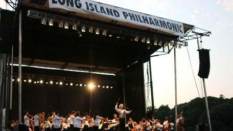 The Long Island Philharmonic performs the annual Music